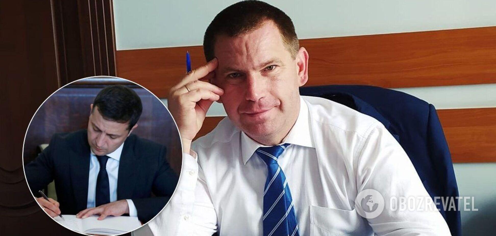 Зеленский уволил председателя Черниговской РГА, который погорел на взятке