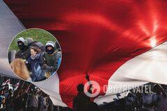 Силовики розганяли протестувальників у Білорусі