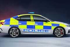 Новая Skoda Octavia RS поступила на службу в полицию