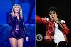 Тейлор Свифт побила многолетний рекорд Майкла Джексона, получив 32 награды American Music Awards
