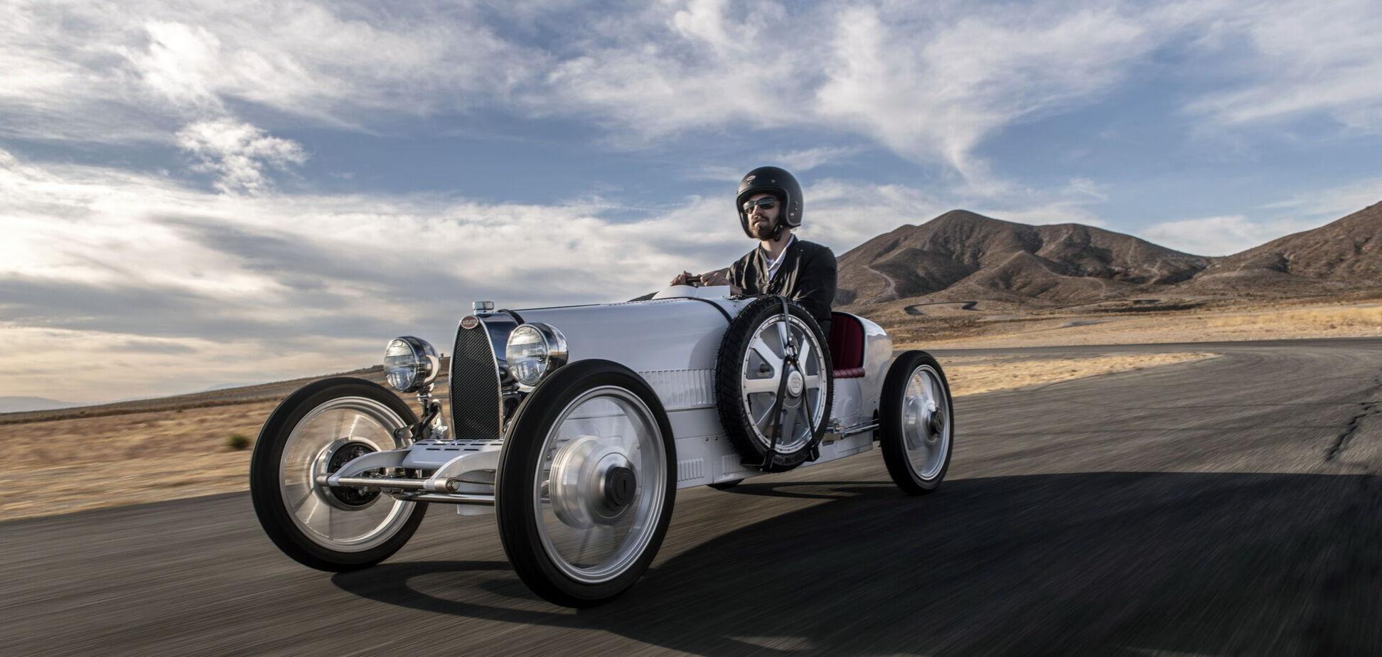Дитячий Bugatti Baby II продають за 'дорослою' ціною
