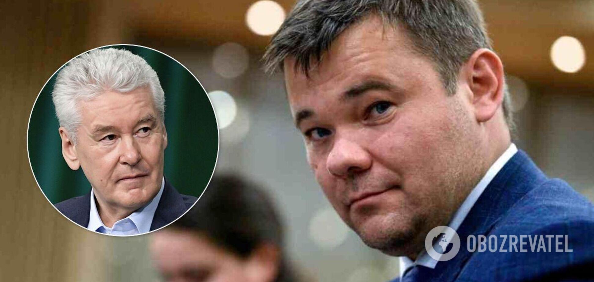 Богдан выбрал Собянина преемником Путина