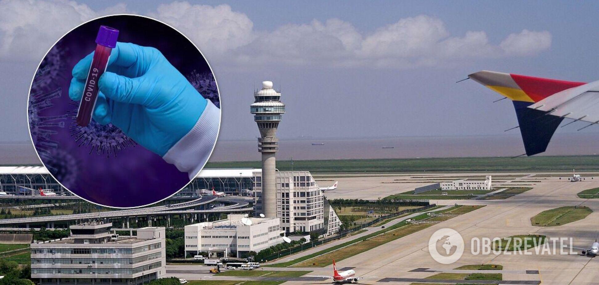 У Китаї в аеропорту люди влаштували тисняву через коронавірус