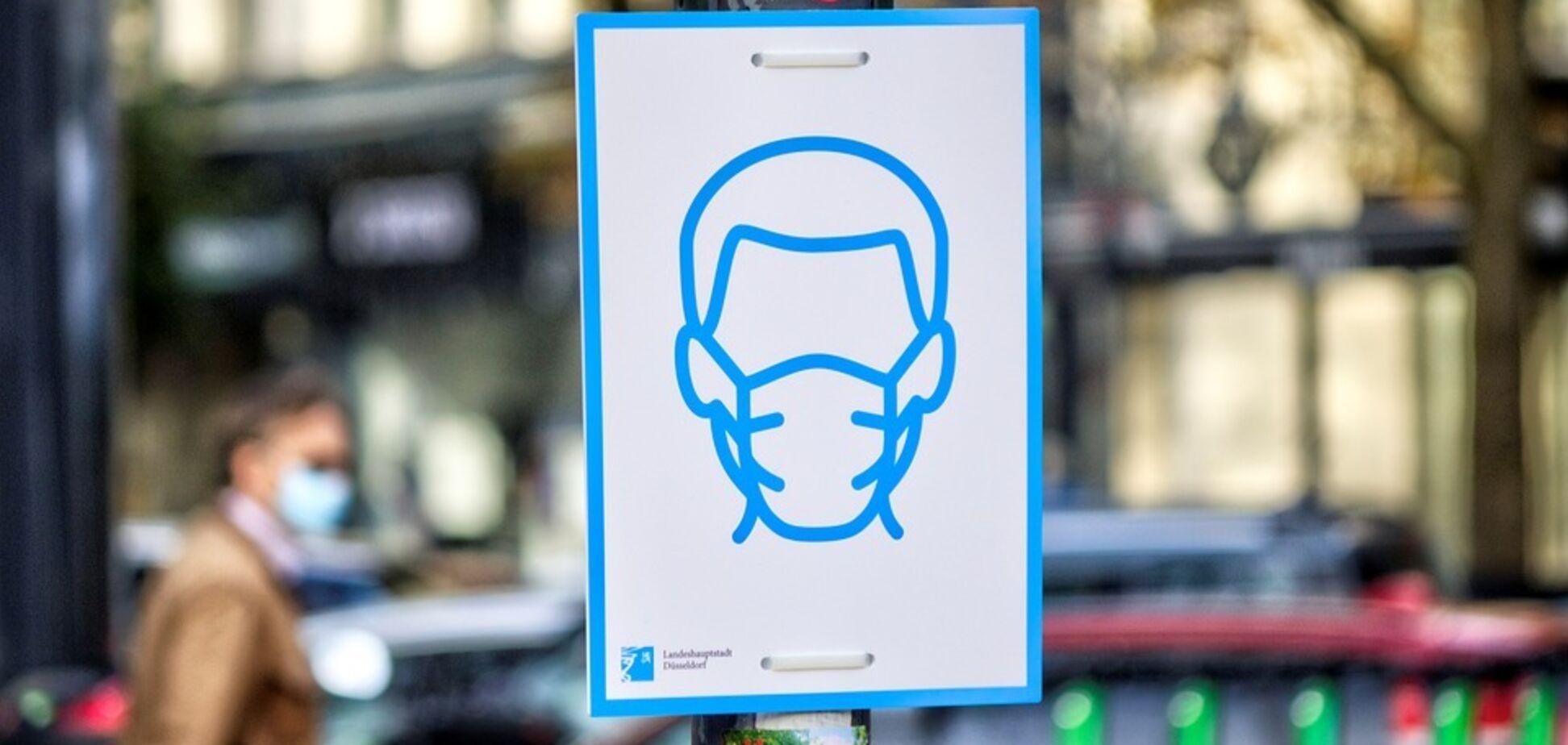 Защита маски от коронавируса