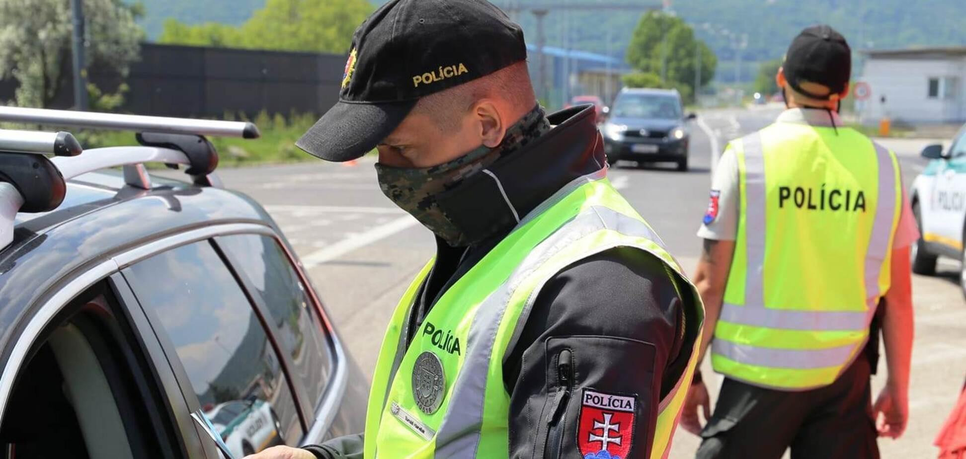 В Словакии произошло ДТП с участием украинца