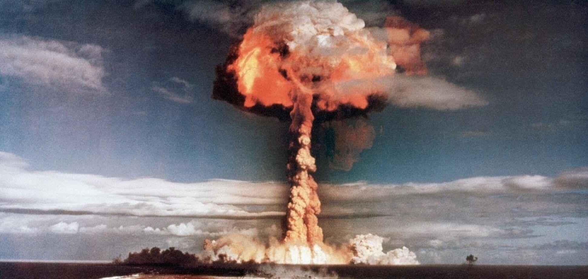 Взрыв на Тоцком полигоне