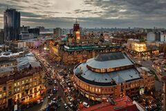 Первый небоскреб Украины вспомнили раритетным фото