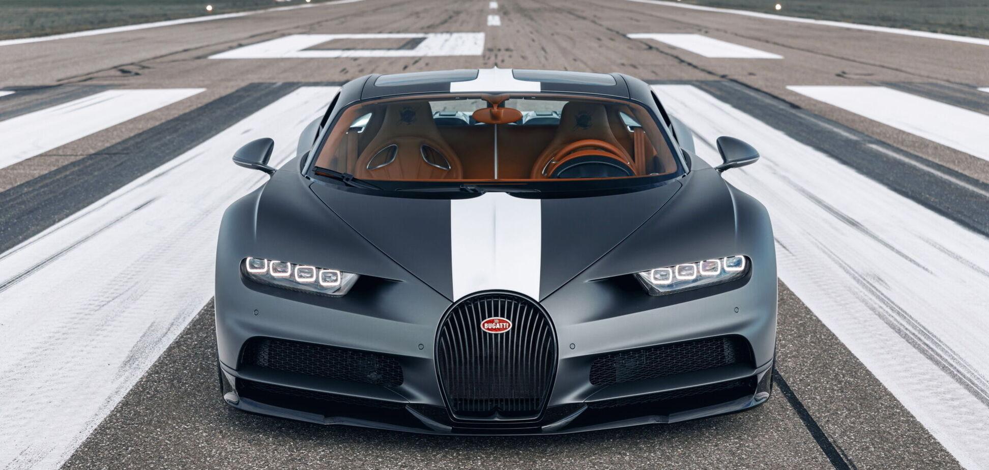 Bugatti за $3,4 миллиона посвятили асам Первой мировой
