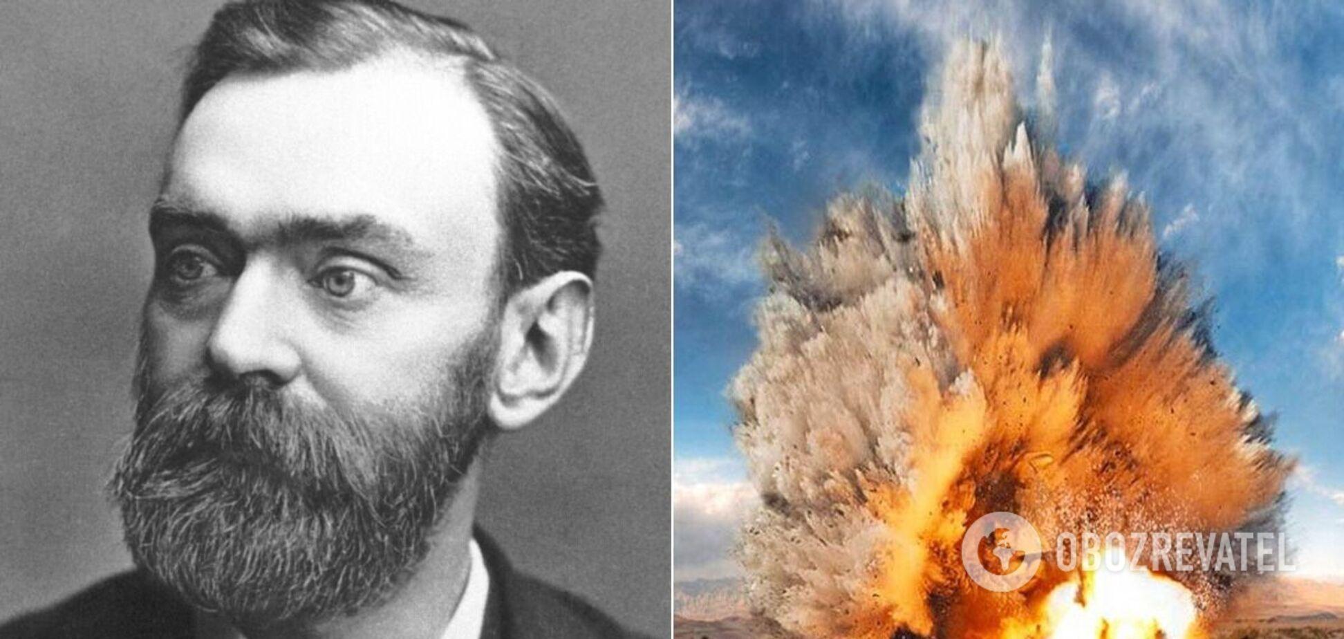 Альфред Нобель запатентовал динамит в 1867 году