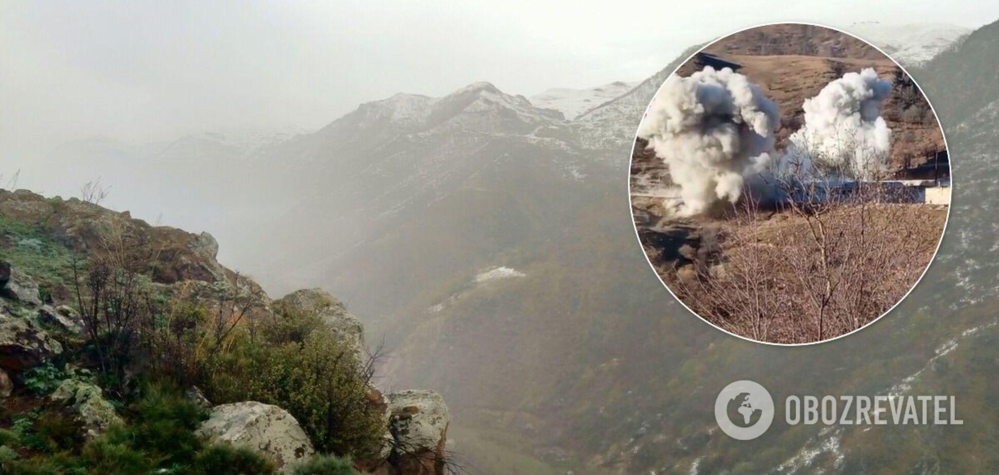 Вірменські військові підірвали військову частину в Карабасі