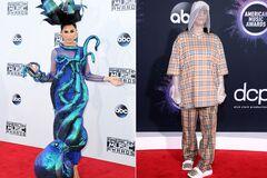 Самые провальные образы звезд на American Music Awards за 10 лет