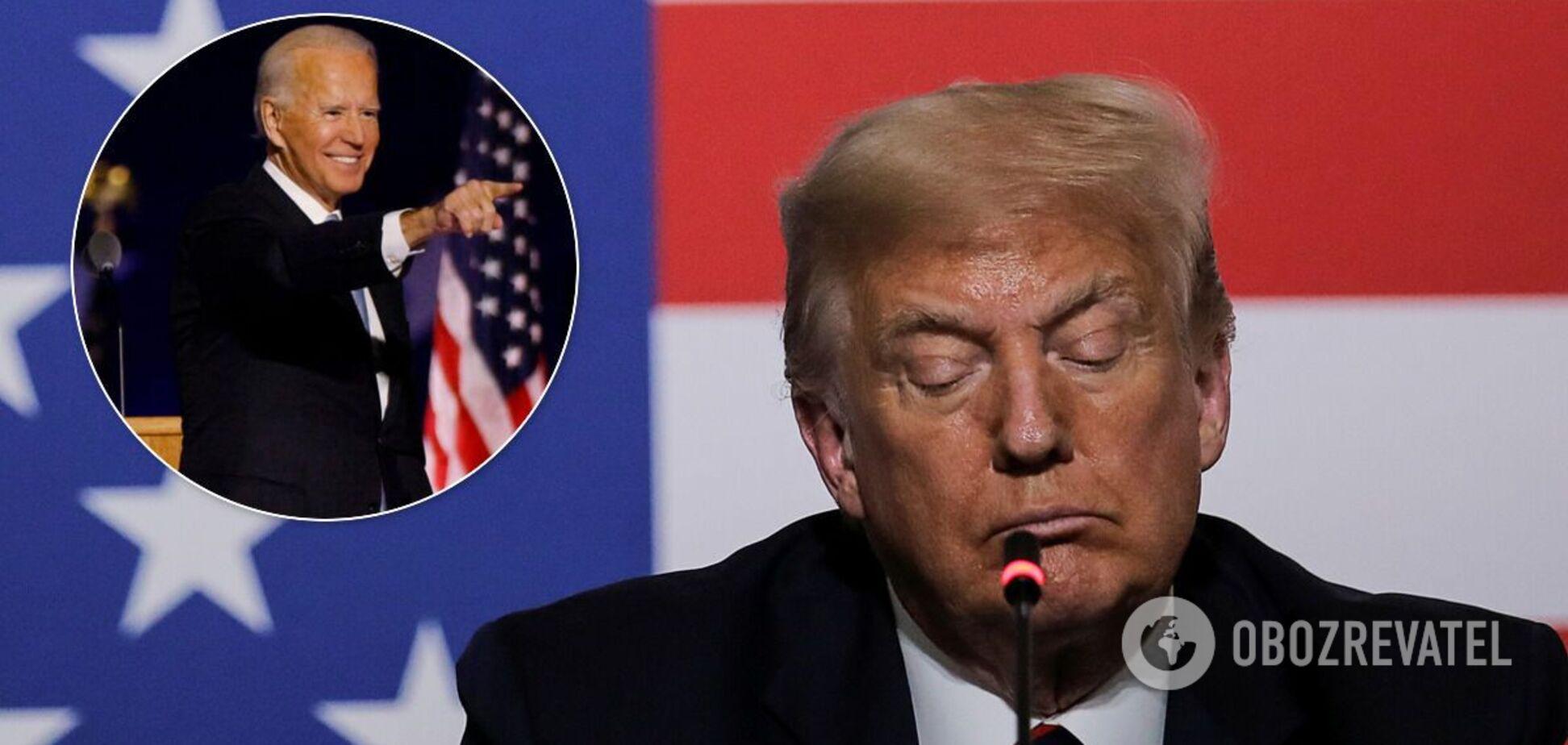 Трампа объявил о готовности передать власть Байдену