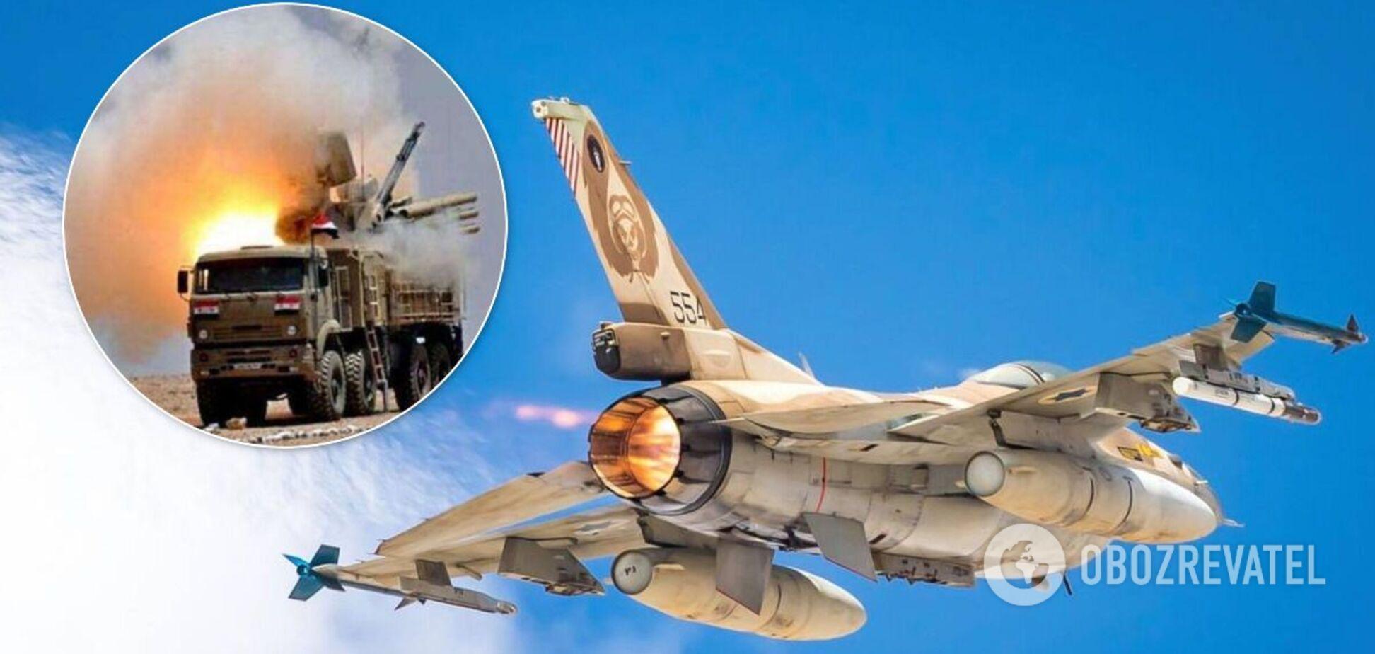 Израиль уничтожил полк Сирии, оснащенный российским 'Панцирем-С' – СМИ