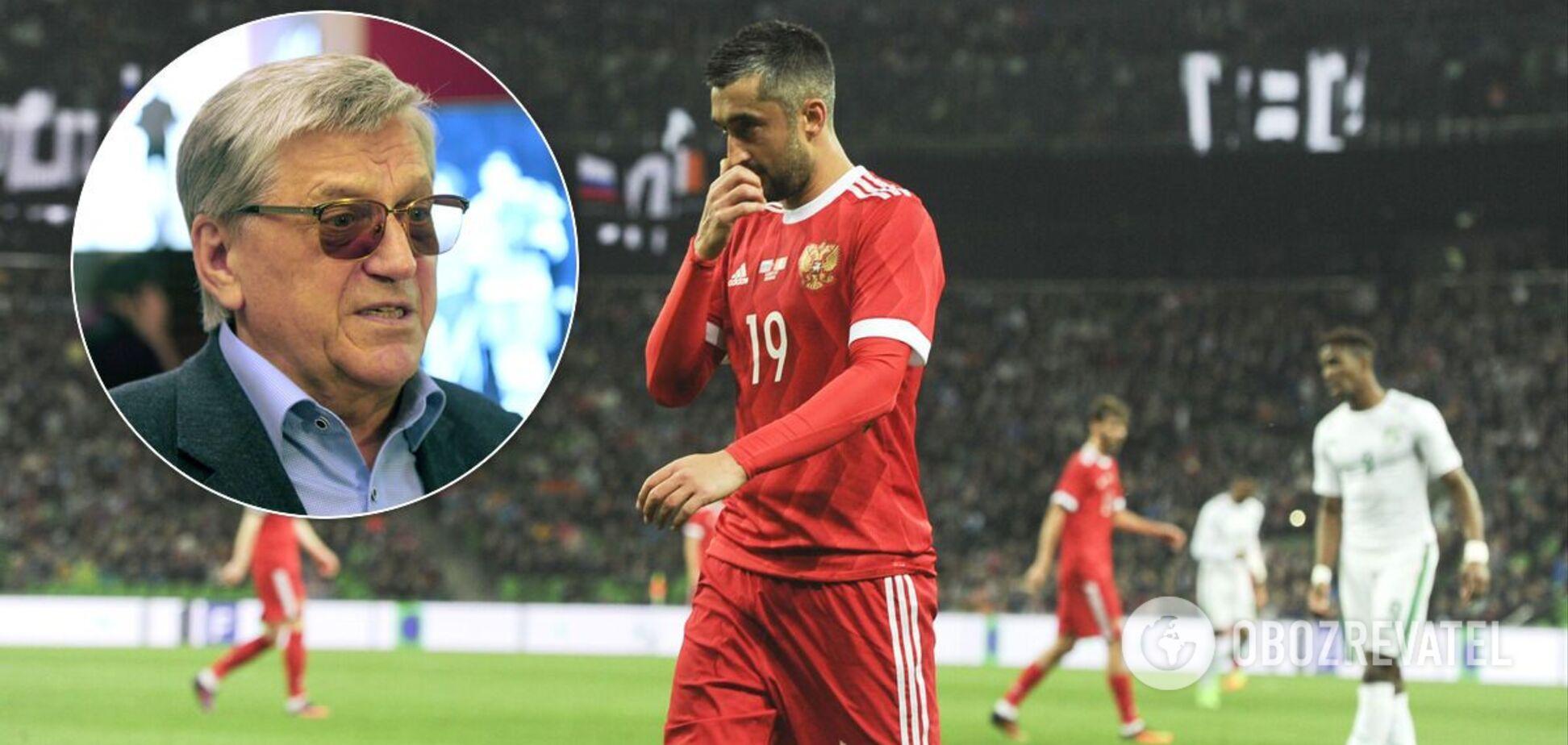 Олімпійський чемпіон назвав російський футбол 'ганьбою всього національного спорту'