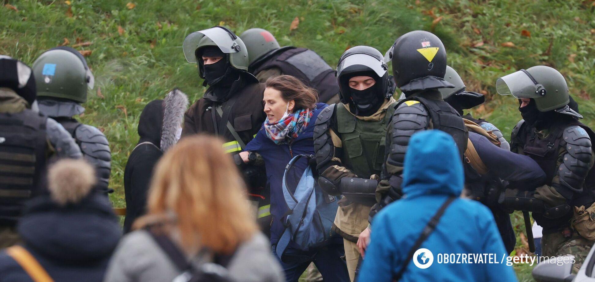 У Білорусі хочуть створити табори для протестувальників