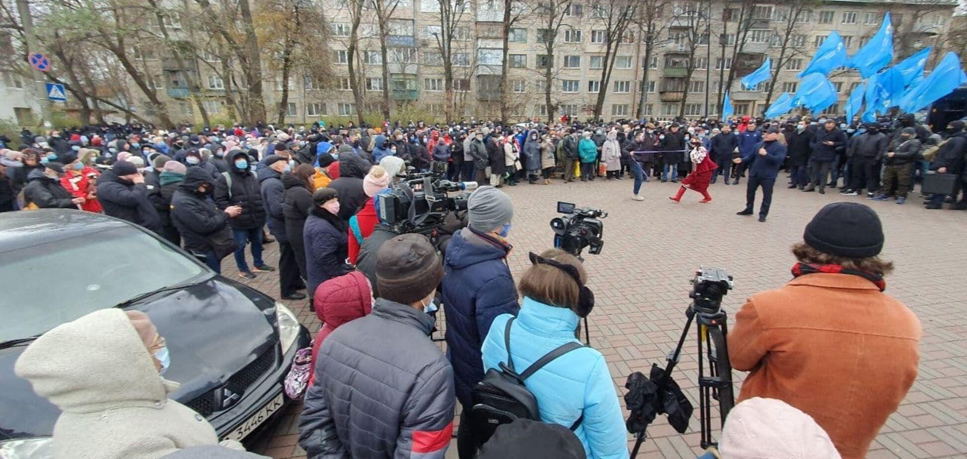Мітинг під посольством США у Києві