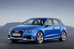 Новую Audi RS3 превратили в 'биток' с помощью фейерверка
