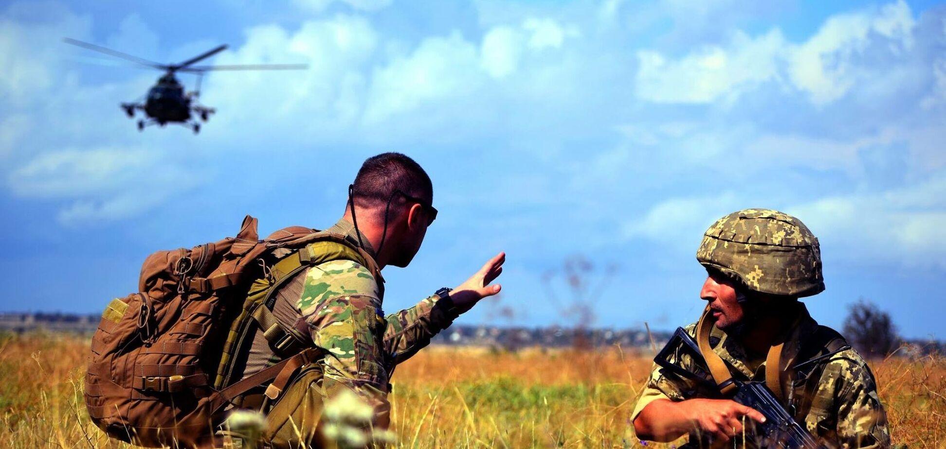 ВСУ провели учения на админгранице с Крымом