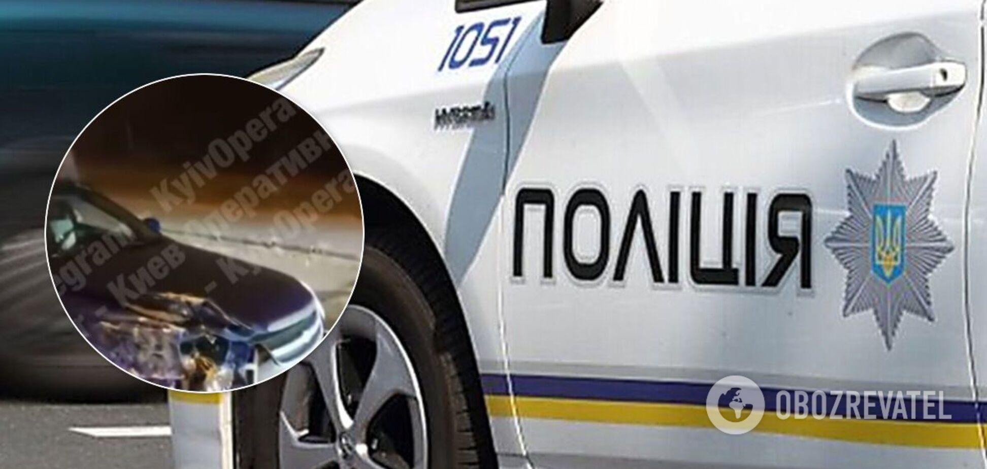 У Києві на столичному шосе сталося ДТП