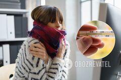 Температуру 37 надо сбивать: врач из Израиля развенчал популярный миф