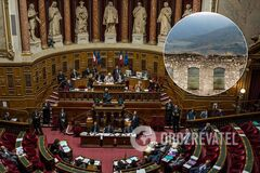 В Сенате Франции приняли резолюцию по Карабаху