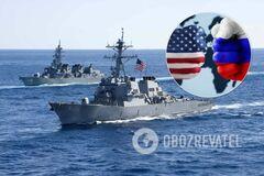 В США ответили на претензии России о 'нарушении границ'