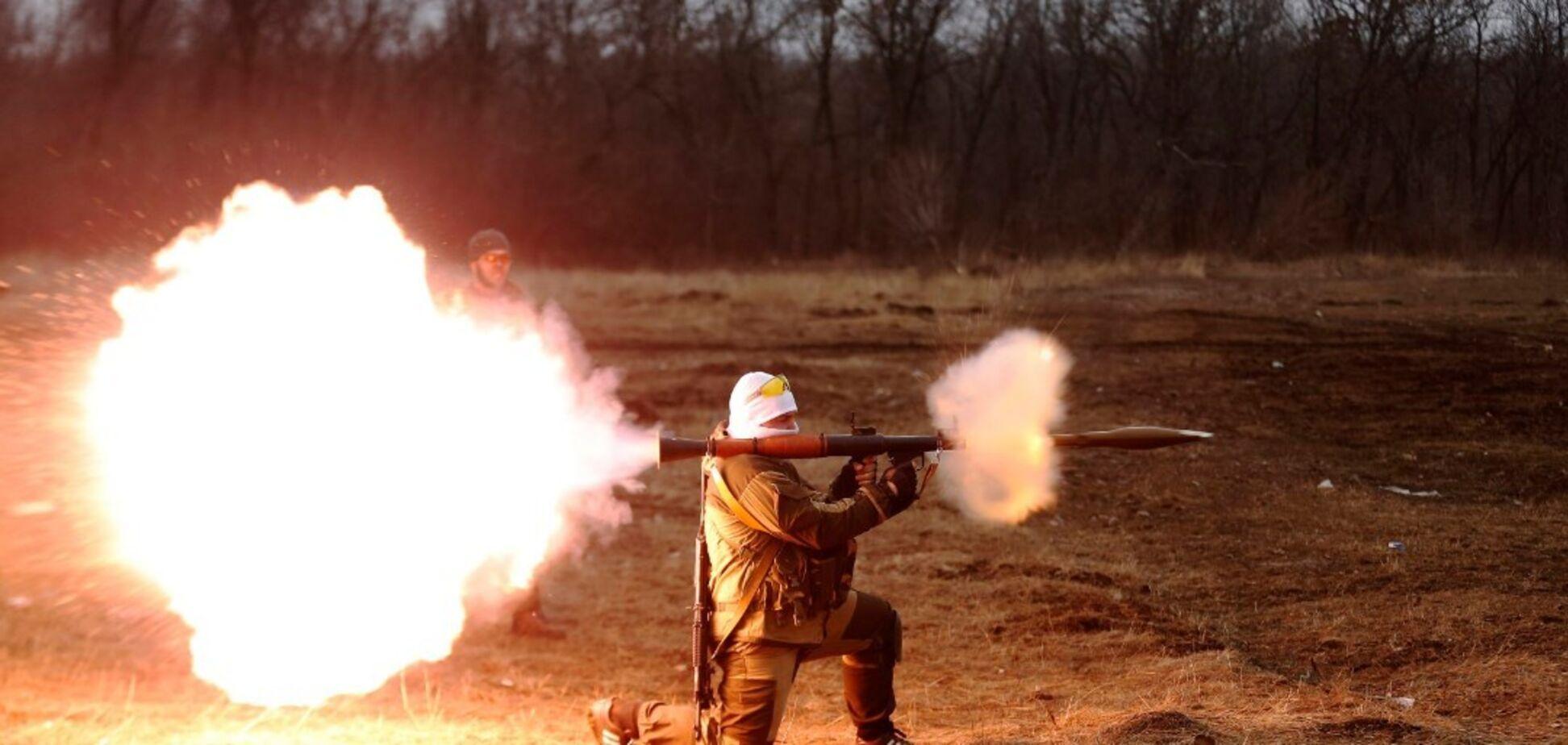 Терористи в цей день використовували гранатомети проти ЗСУ