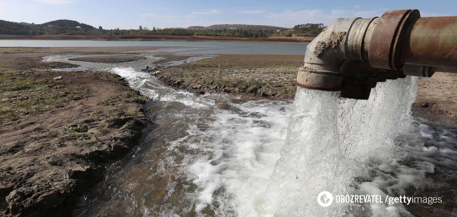 Из-за засух в Крыму пересохли реки, озера и водопады
