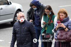 В Украине за сутки обнаружили почти 14 тысяч новых больных COVID-19: данные на 25 ноября