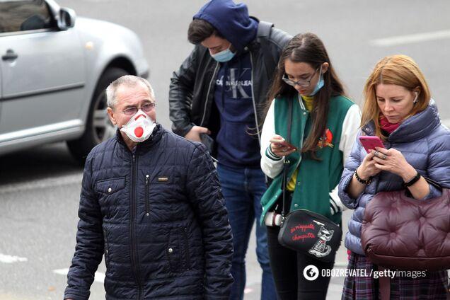 В Україні за добу виявили майже 14 тисяч нових хворих на COVID-19: дані на 25 листопада