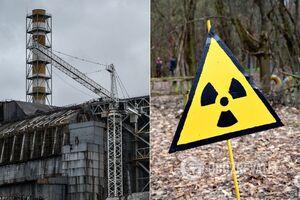 Радіація біля Чорнобиля