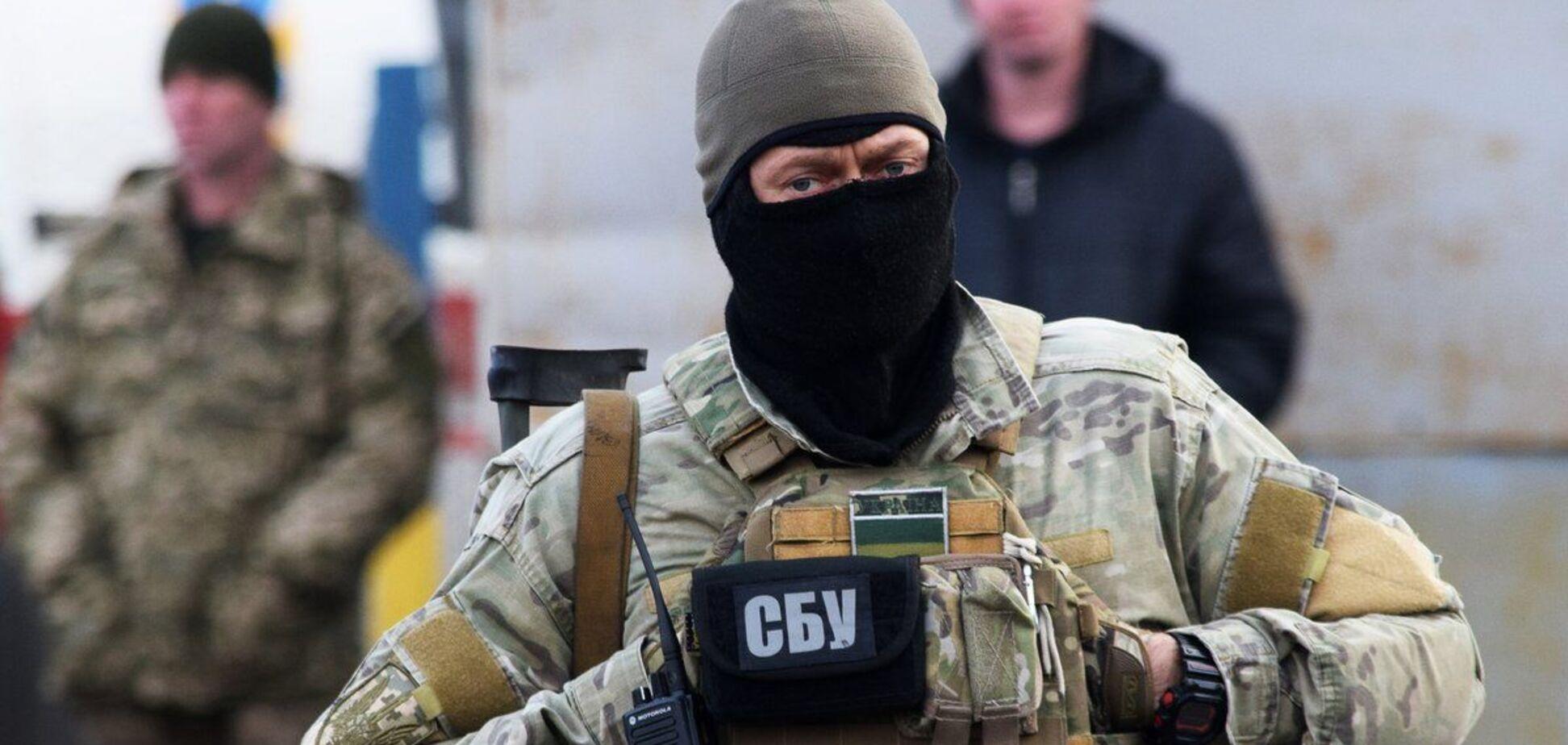 СБУ задержала нацгвардейца по подозрению в госизмене