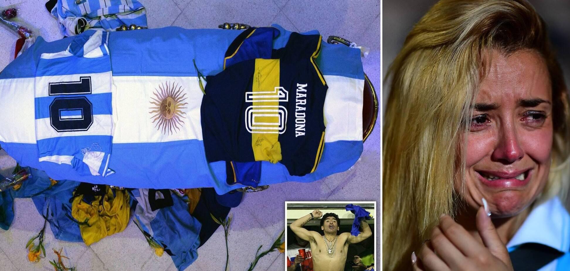 Марадона умер