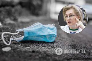 Голубовська за введення повного локдауну в Україні
