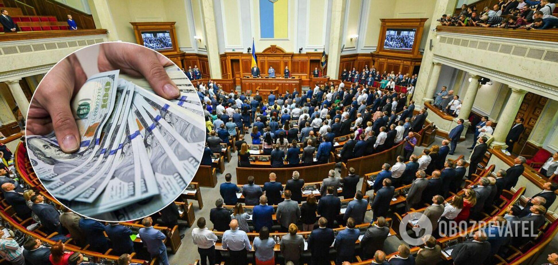 Нардепам якобы платят за голосование в Раде