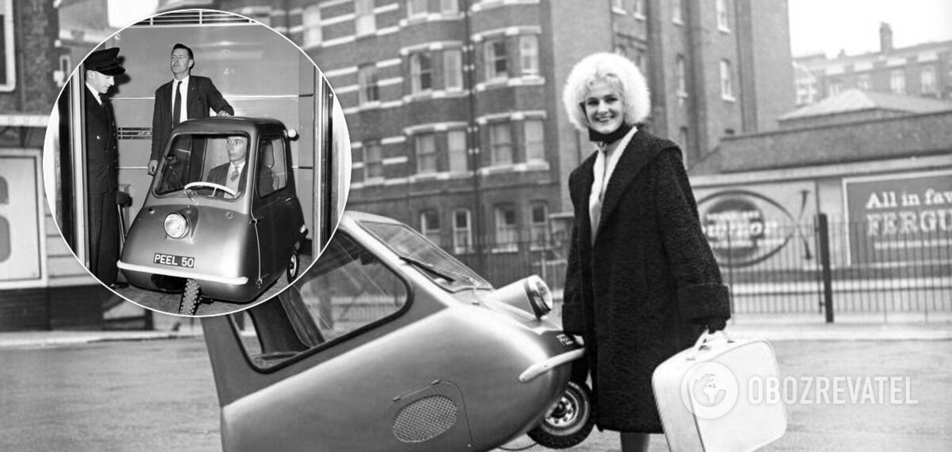 Наименьшее в мире авто Peel P50