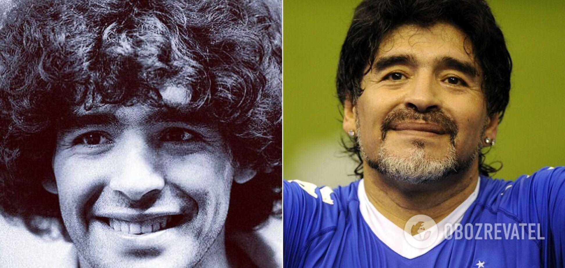Марадона начал футбольную карьеру еще в детстве
