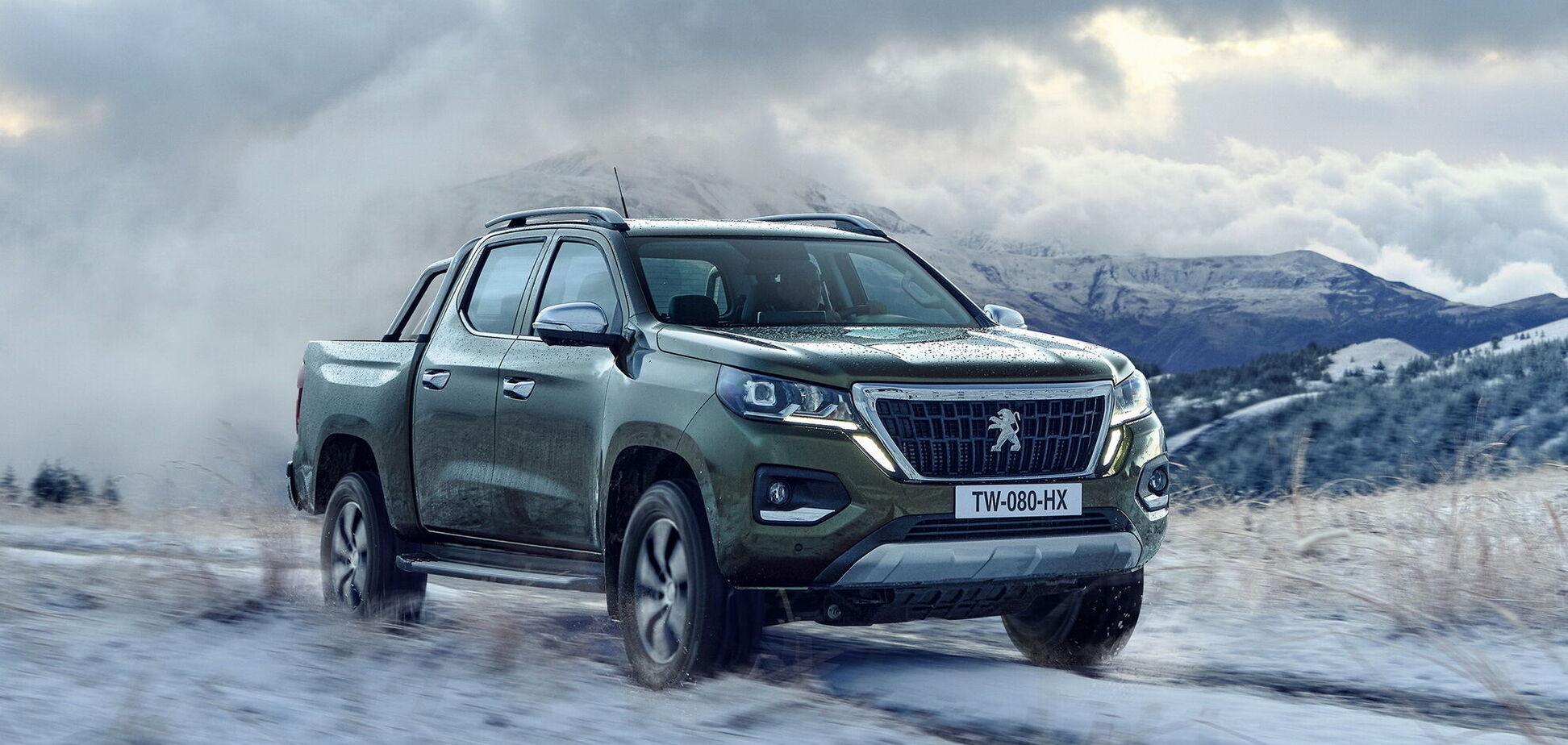 Peugeot возвращается на рынок пикапов с новинкой Landtrek