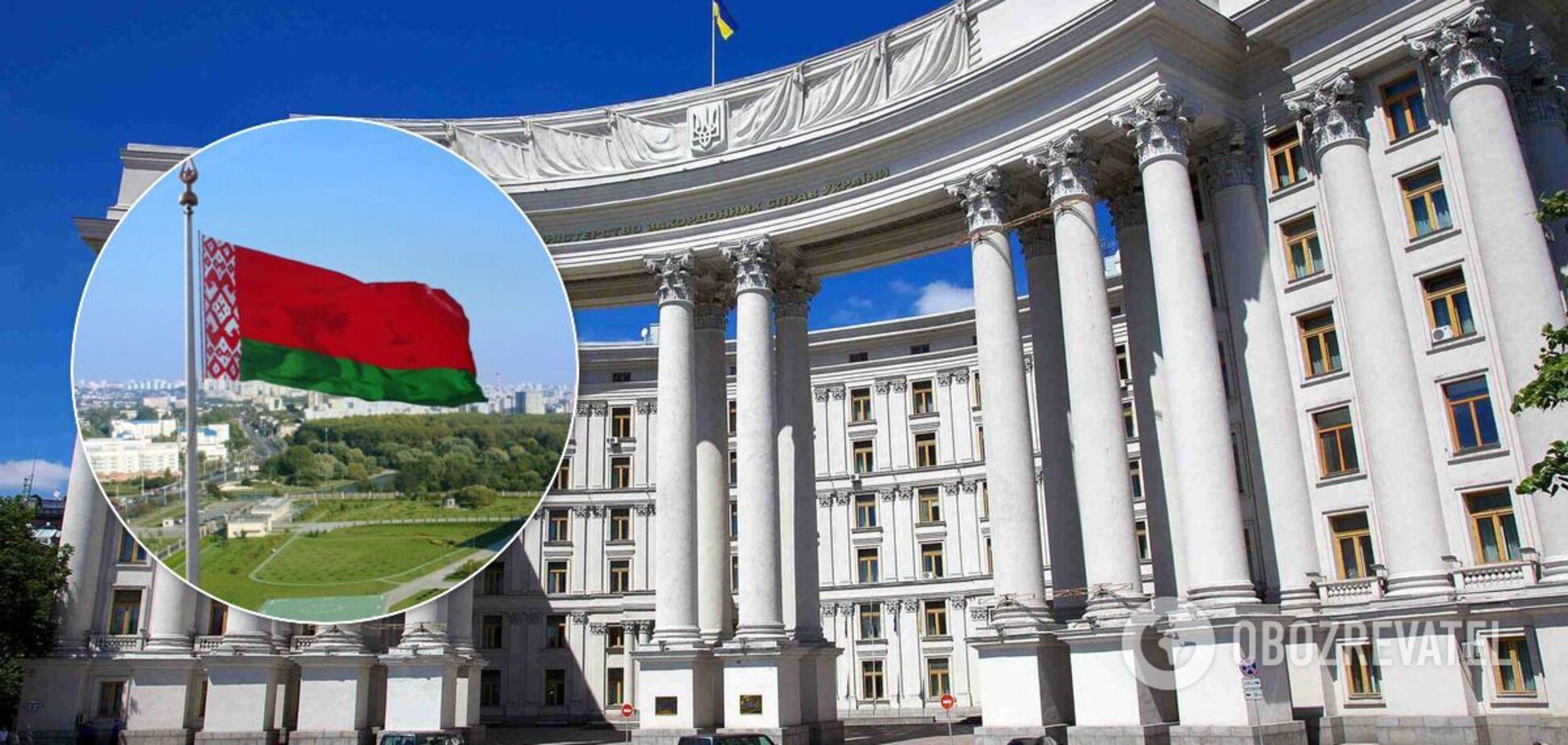 МИД ответил на подготовку Беларусью санкций против Украины