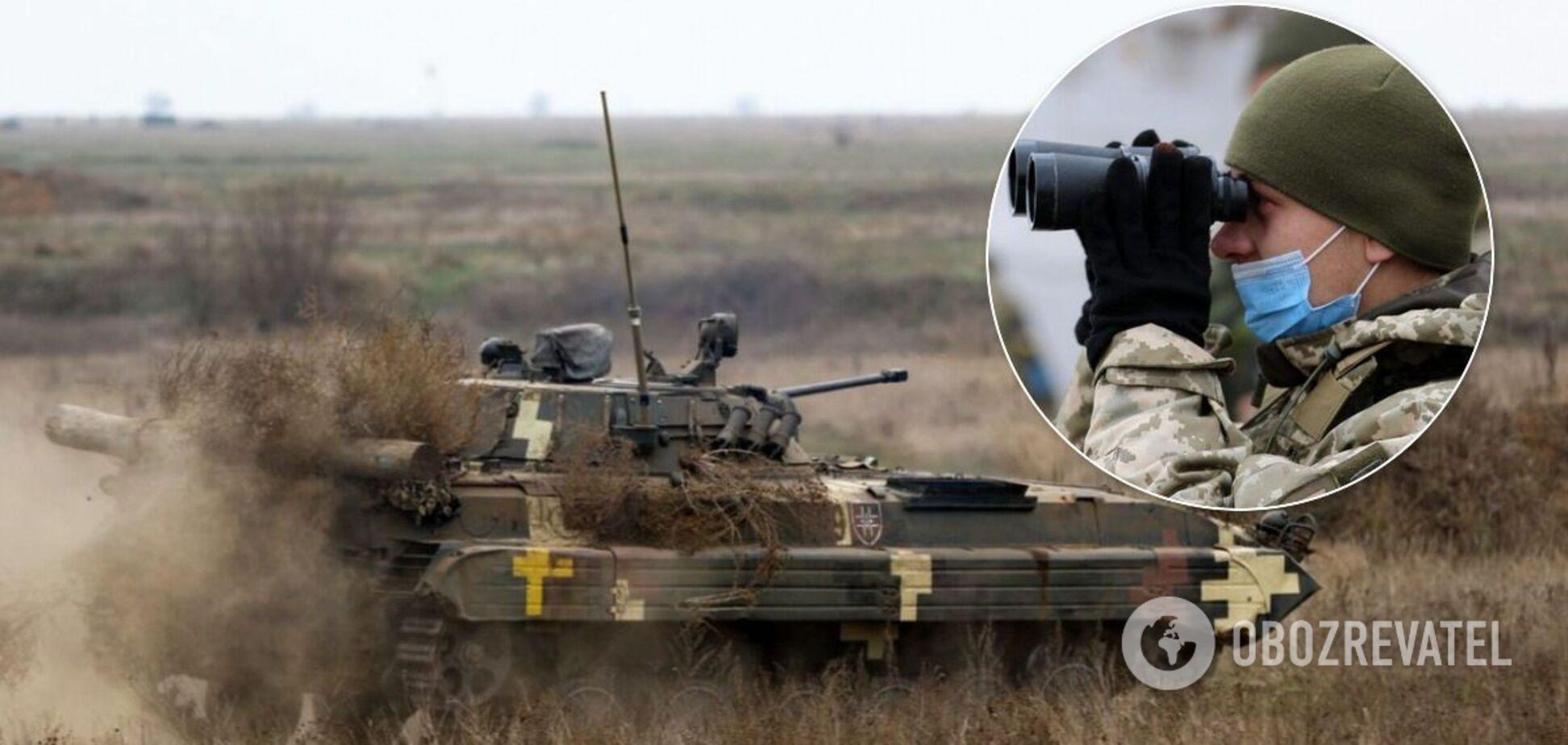 Проходять масштабні тактичні навчання з бойовою стрільбою