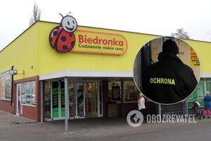 Охранник магазина напал на выходца из РФ