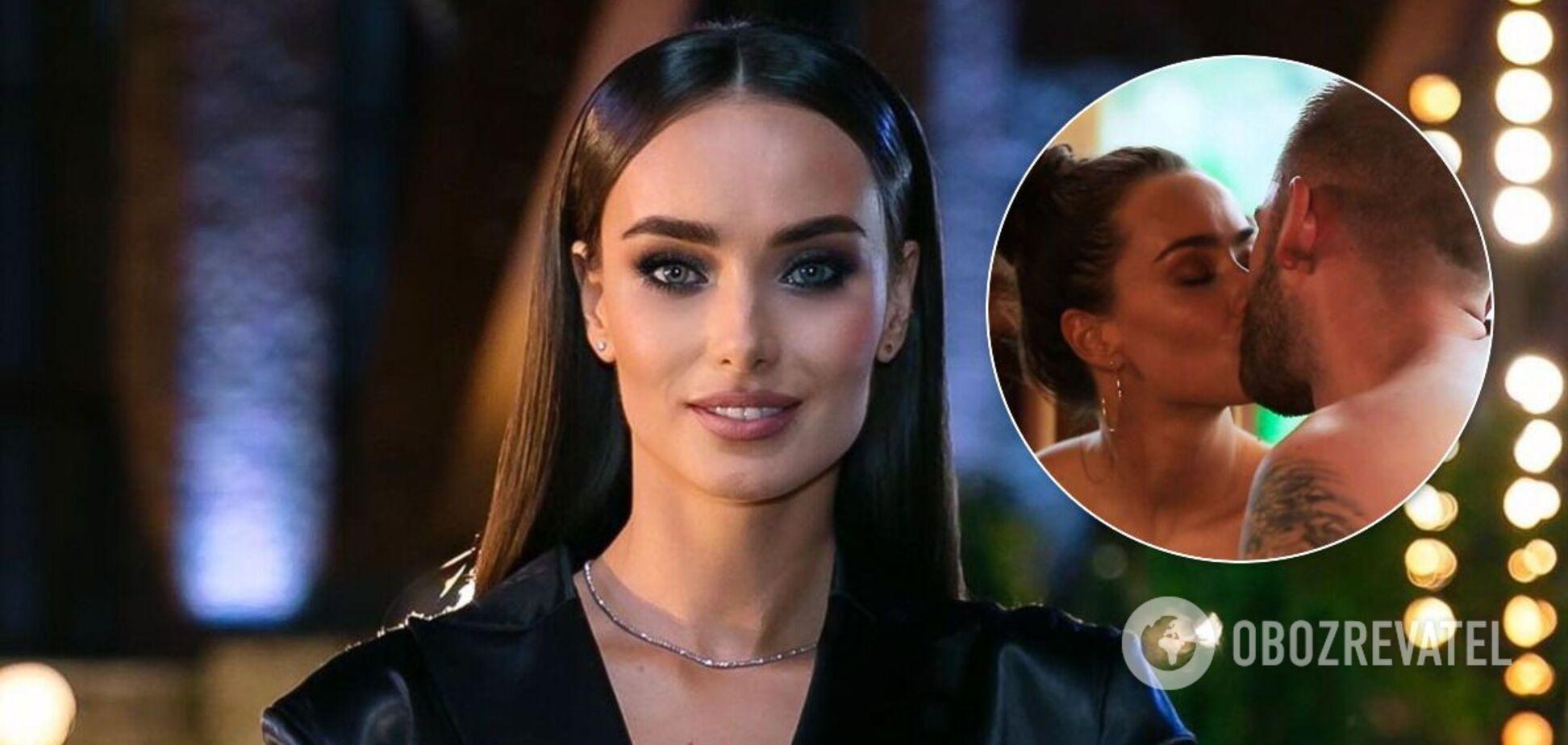 Ксения Мишина и Андрей Рыбак поцеловались на шоу 'Холостячка'