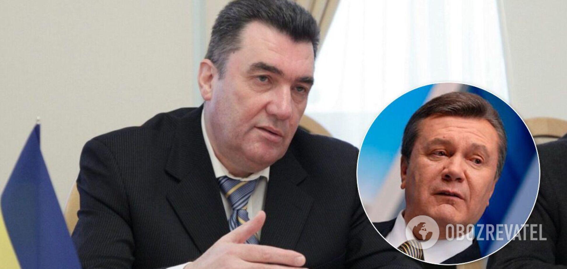 Данилов заявил, что россияне получили контроль на Донбассом при Януковиче