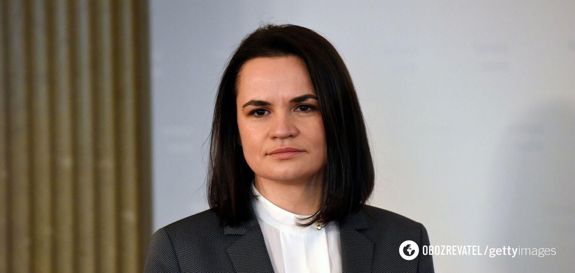 Белорусская оппозиционерка Светлана Тихановская