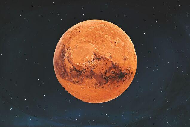 Марс – четвертый по удаленности от Солнца