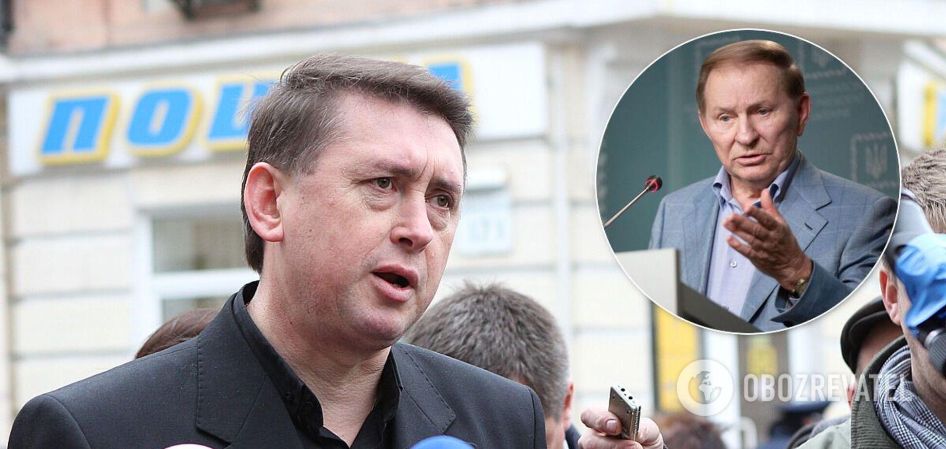Майор СБУ Николай Мельниченко утверждал, что в течение двух лет он тайно записывал все разговоры президента Кучмы
