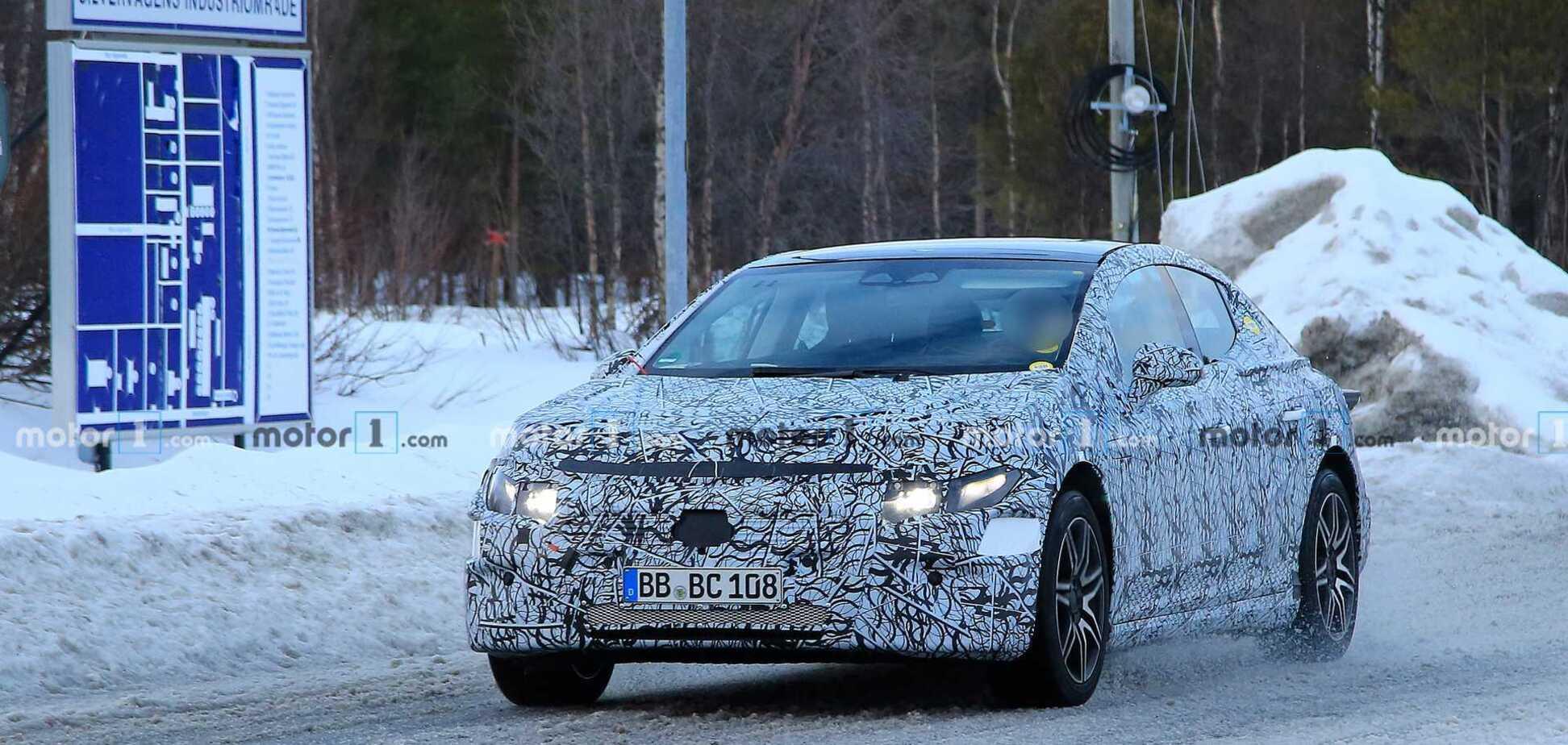 Daimler запатентовал обозначения электрических Mercedes-AMG