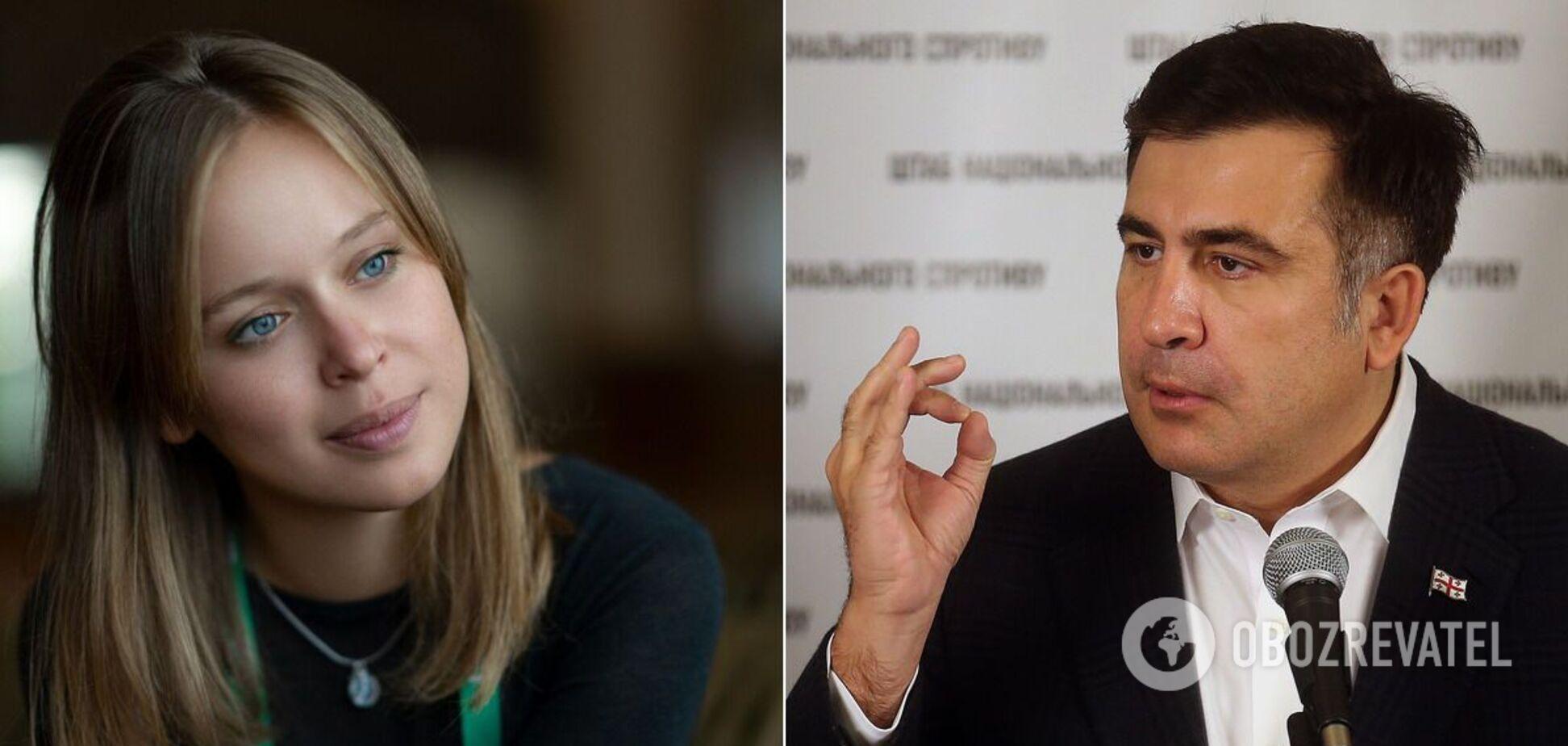 Елизавета Ясько и Михеил Саакашвили