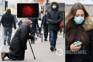 Статистика по коронавирусу в Украине