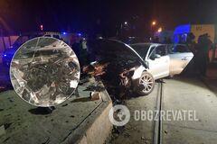 У ДТП постраждала курсантка університету внутрішніх справ
